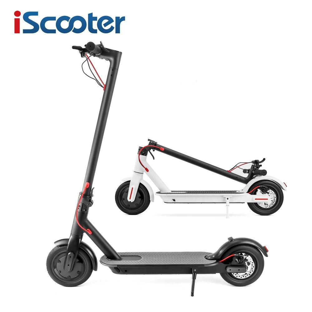 IScooter trottinette électrique Intelligent Pliant Électrique longboard Hoverboard Planche À Roulettes avec lumière led 2 Roues Livraison gratuite