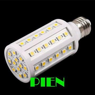 12w led lamp e27 220v 5050 SMD 60 LED Corn Bulb E14 B22 home Bedroom High Power 360 degree 110V 220V white Free Shipping 5pcs