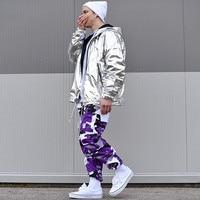 Eight Color Camo Cargo Pants 2017 Mens Fashion Baggy Tactical Trouser Hip Hop Casual Cotton Multi
