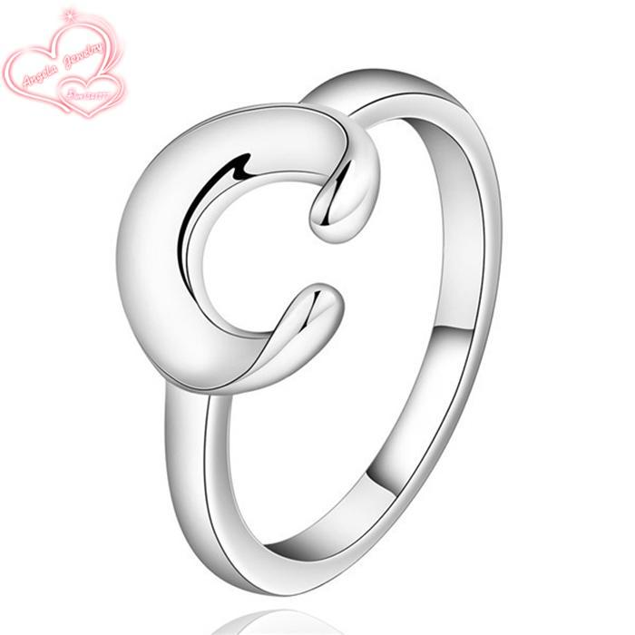 Ring Silver Plated special design trendy ring Silver Plated fashion jewelry ring for charm women free shipping dwek LSR522
