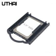 UTHAI G05 2.5 ila 3.5 Inç Sabit Disk Dirsek SSD Ücretsiz Vida Braketi Katı Hal Sabit Disk HDD PC Dönüştürücü adaptörü