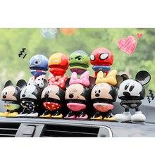 Nodding Cute Dolls Car Shake Head Dolls Dashboard Car Decoration Accessories Aut