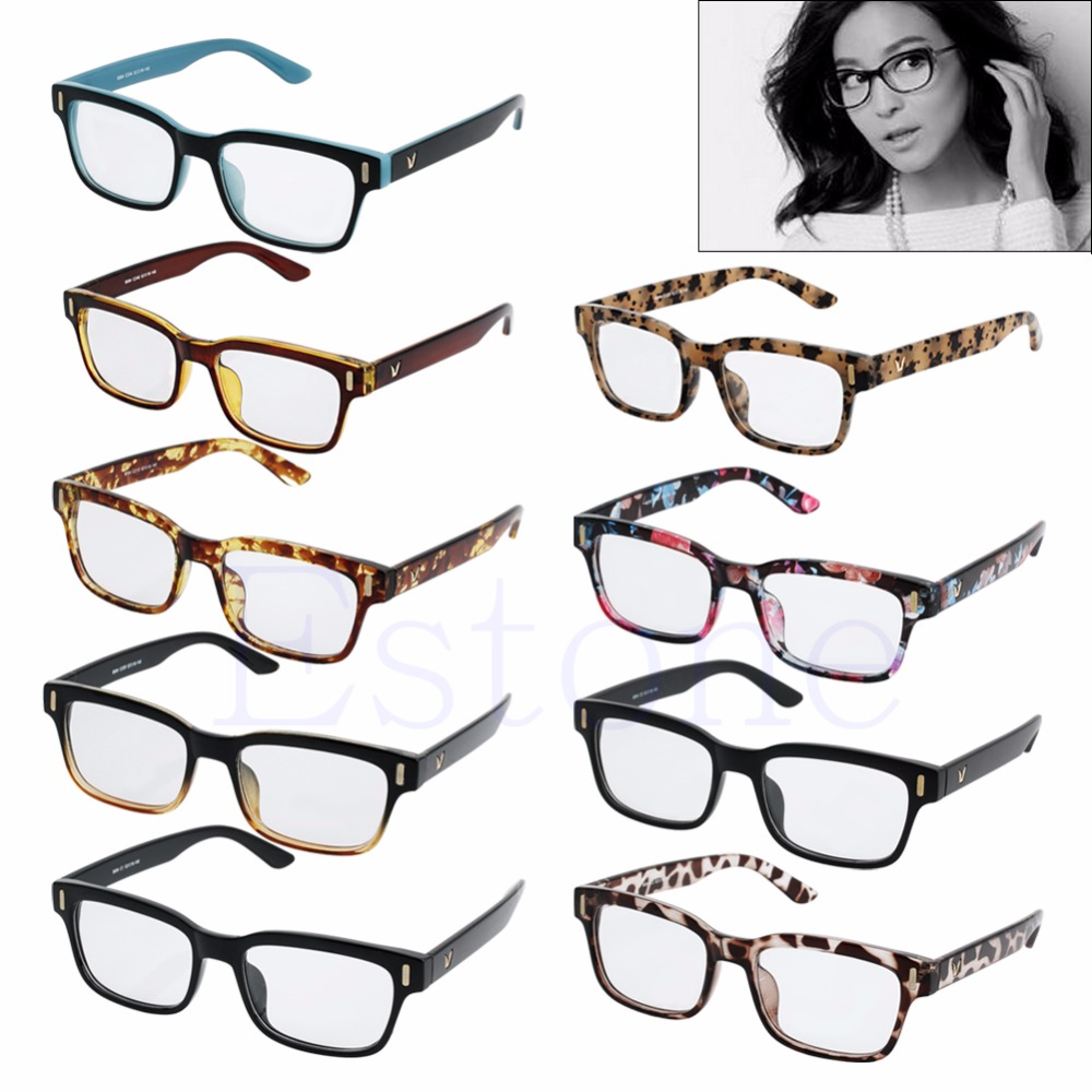 New 2018 1PC Fashion Retro Vintage Men Women Eyeglass Frame Full Rim Glasses Spectacles Eyewear