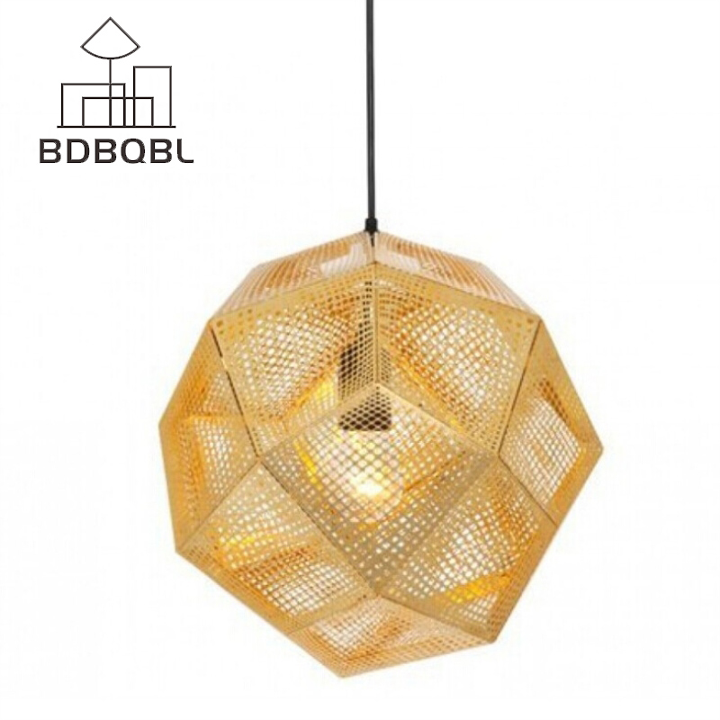 BDBQBL Modern LED Pendant Light Metal Spherical Solemnity AC 90-260V Pendant Lamp Energy Conservation Plated Parlor HanglampBDBQBL Modern LED Pendant Light Metal Spherical Solemnity AC 90-260V Pendant Lamp Energy Conservation Plated Parlor Hanglamp
