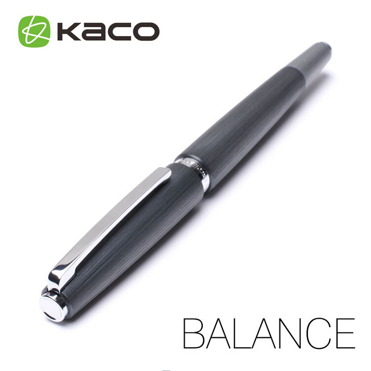 KACO Brand BALANCE Ballpoint Pen High Quality Standard Type Rollerball/Sign Pens Free Shipping high quality smooth crystal rollerball ballpoint pen with usb screw type touch pens with gift box free shipping