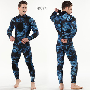 Image 3 - 3mm scuba diving suit SCR chloroprene rubber submersible surfers to prevent cold and warmth