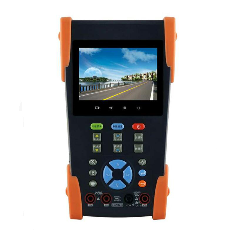 3.5 Analog IP Camera Tester with 48V POE Power output video surveillance security system