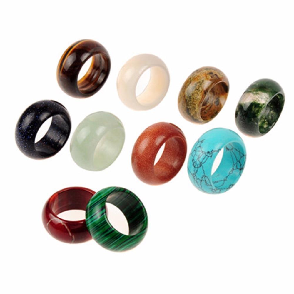 Druzy Fine Rings Mix