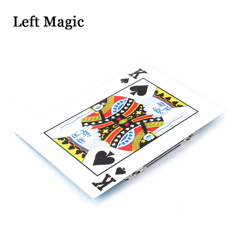 Table pliante magique en aluminium (alliage)-couleur argent tours de magie magicien meilleure scène de Table gros plan Illusions accessoires de magie - 4