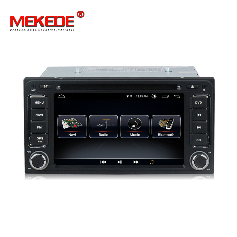 Free shipping MEKEDE android 8 1 Car multimedia Navigation GPS DVD player for Toyota corolla RAV4