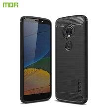 MOFi For Motorola Moto E5 Play Case Silicone Soft Fashion TPU Back Cover Phone Cases Coque Capa