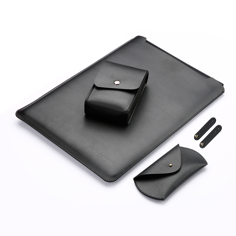 PU Leather Sleeve For Xiaomi Laptop Pro 15.6 Protective Skin Laptop Bag Case Pouch For Mi Notebook Air Pro 15.6 Inch Gift sleeve bag for lenovo air 12 2 inch tablet laptop pouch case handbag protective skin cover for lenovo air 13 air pro 13 3 gift
