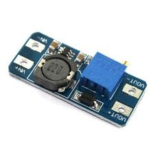 5 шт./лот mt3608 DC-DC Step Up конвертер Booster Питание модуль Boost повышающий доска максимальная Выходная 28 В 2A для Arduino DIY Kit