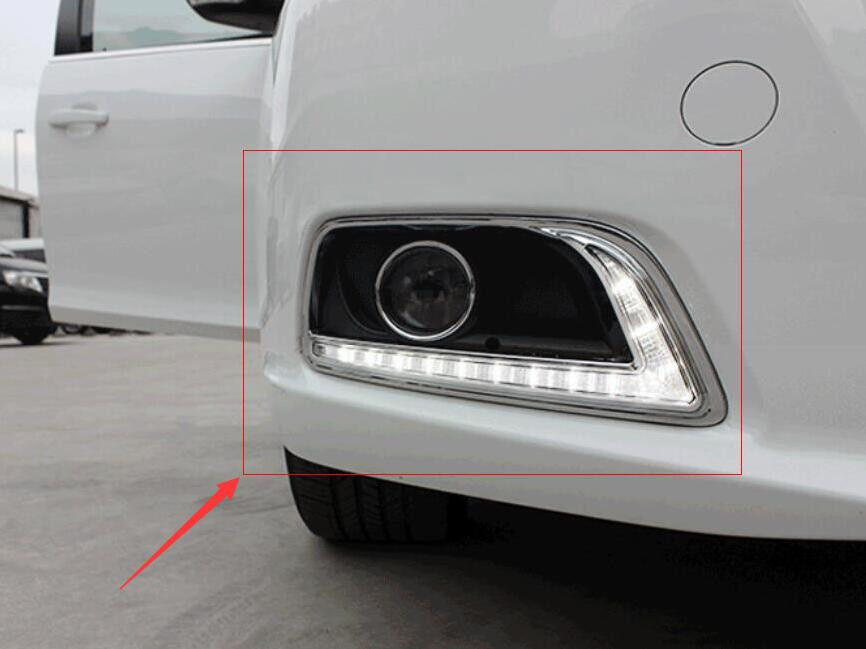 LED Daytime Running Lights For Chevrolet Malibu 2012- 2015 DRL Fog Lamps Cover