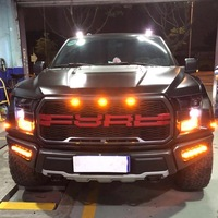 Kalaite Car DRL led daytime running light for Ford F150 2015 2016 2017 2 Color Driving Day Light auto car styling plug & Play