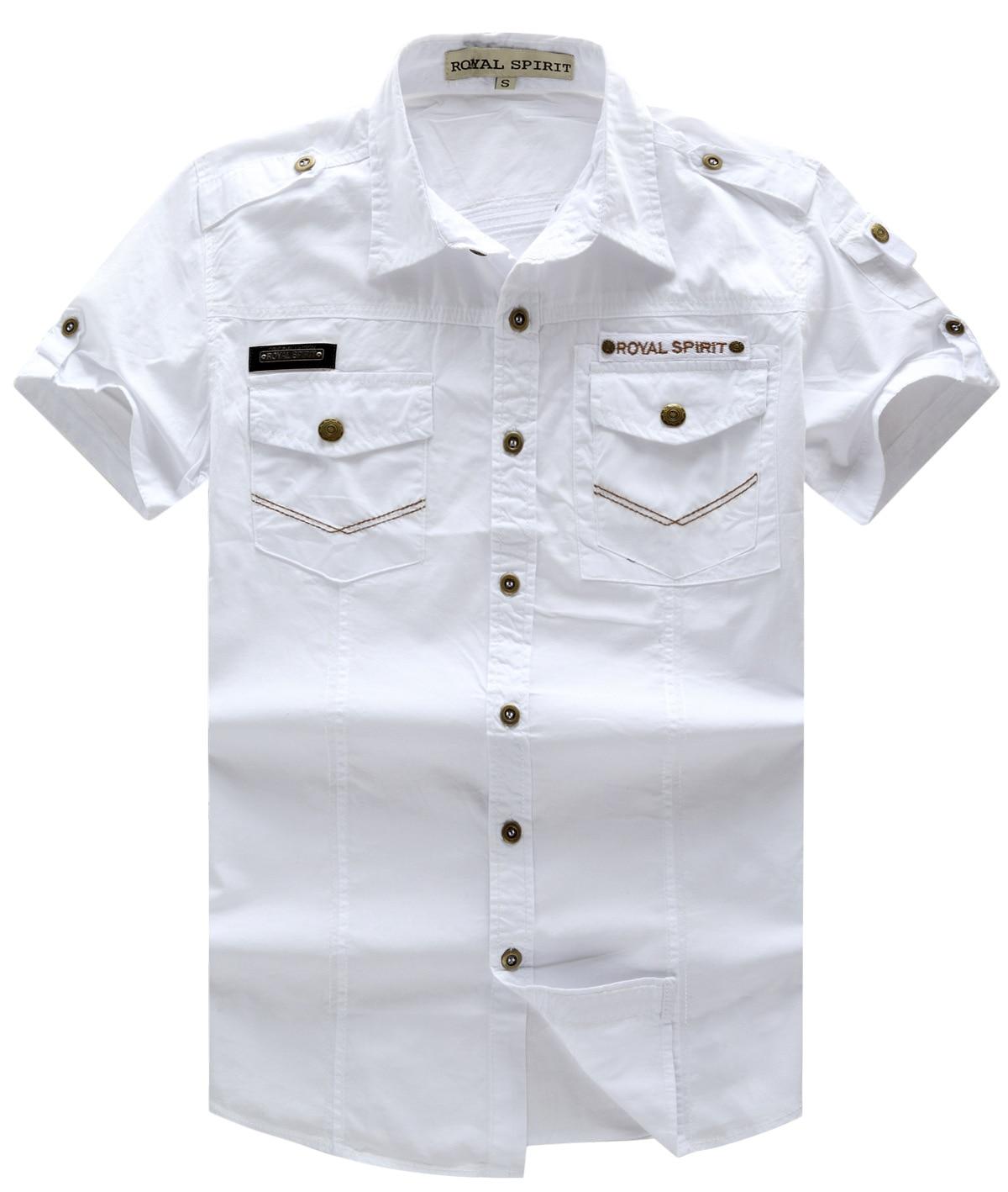 Fredd Marshall Men 39 S Dress Shirt Casual Brand Short Sleeve