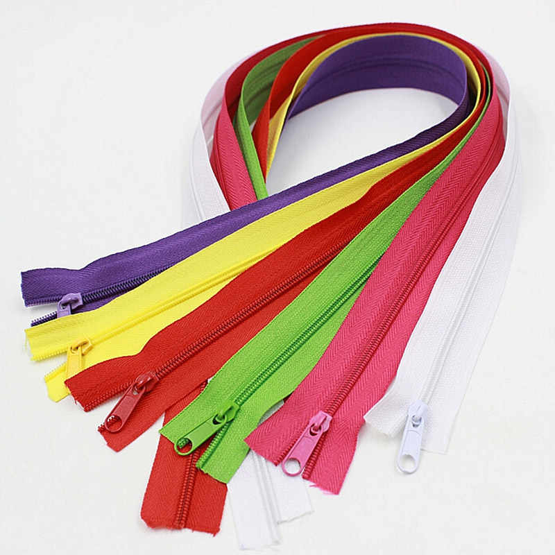 Alipress 5 # нейлоновые молнии для DIY шитье сумок обувь, одежда аксессуары 10 метров 22 цвета в наличии