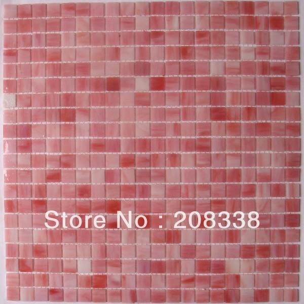 rosa color cristal mosaico tiffany bao cocina salpicaduras pared pared azulejos de piso de