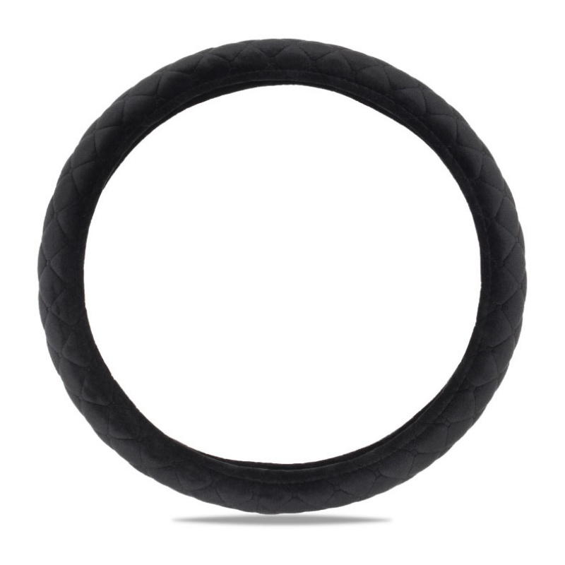 Winter Plush Steering Wheel Cover Auto Parts Interior Decoration Comfortable Breathable Good Heat Preservation(China)