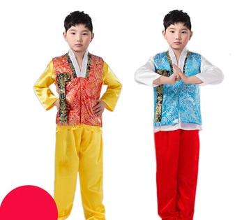 778becaa4 Летний детский корейский национальный костюм мужской Традиционный ...