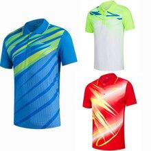 Женские/мужские волейбол Гольф обучение настольный теннис одежда поло футболки спортивная быстросохнущая дышащий Бадминтон рубашка майки