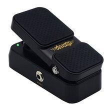 Sonicake 2 в 1 активный объем Винтаж Wah ЗВУК гитары педаль светодио дный эффектов светодиодные показывает QEP-01