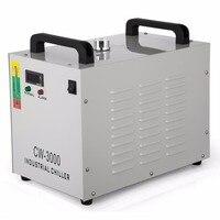 CW3000 охладители воды оборудованы высокой Скорость вентиляторы охлаждения CO2 Стекло лазерной трубки