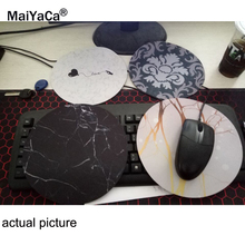 Купить с кэшбэком MaiYaCa New Small Size Computer desktop  Game Marble lines Mouse Pad Non-Skid Rubber Pad20x20cm and 22x22cm  Mouse Pads