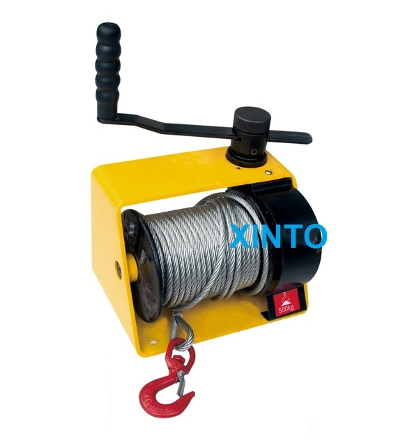 US $226 15  500 1000KG hand winch, heavy duty lifting pulling manual  windlass, automotive trailer-in Lifting Tools & Accessories from Tools on
