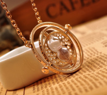 Harry Potter Necklace Time Turner Hourglass Hermione Granger