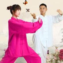 Новинка 2016, китайский костюм кунг-фу, одежда Тай-Чи, хлопковая форма для боевых искусств, ушу, тайцзи, одежда, Taijiquan, тренировочные комплекты