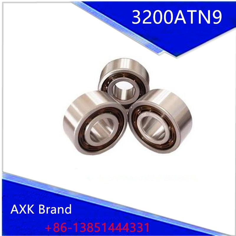 1PCS  3200ATN9 10x30x14.3 3200 3200A 5200 3200-B-TVH 3056200 3200B Double Row Angular Contact Ball Bearings  AXK Bearing