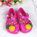 2017 Summer Baby Girl Shoes Fruit Children Beach Sandals Lovely pineapple Kids Shoes Free Shipping F23