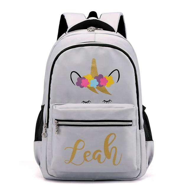 ba59b2c313 Aolida Newest Women Backpacks Printing Backpack Female Trendy Designer School  Bags Teenagers Girls Men Travel Bag