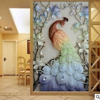 5D Diy Peacock Diamond Painting Cross Stitch Needlework Rhinestone Embroidery Round Resin Full Diamond Embroidery Mosaic