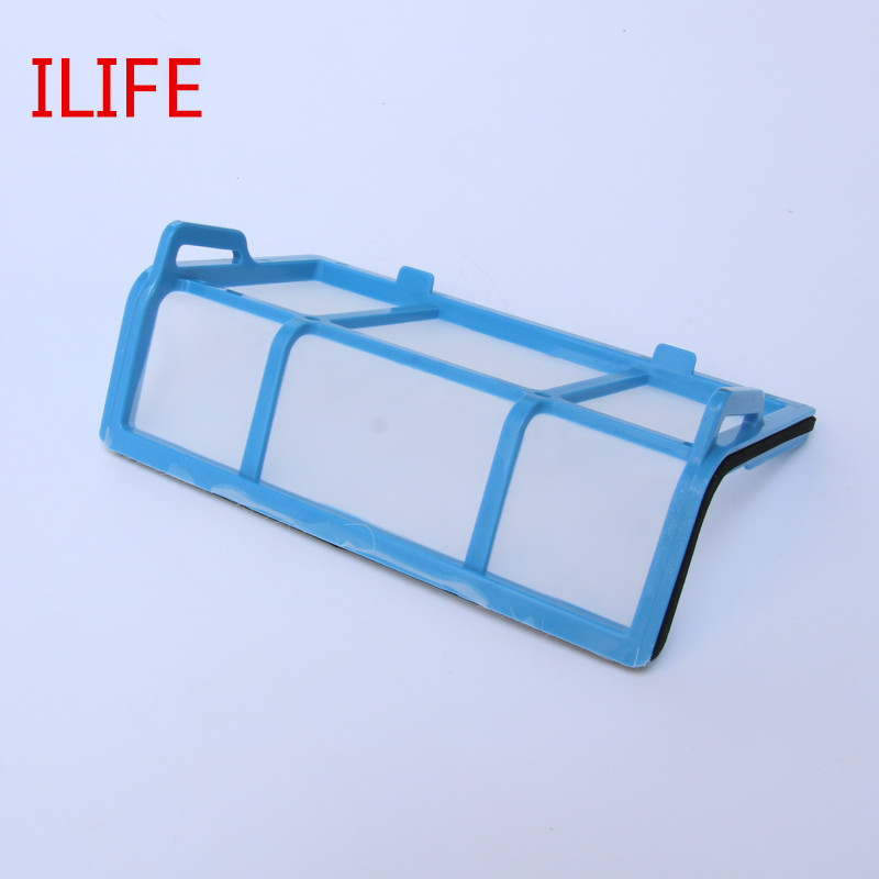 1 pcs Primary Filter Replacement for ilife V1 ilife x5 v5s  V3 V3+ v5pro ilife v5s pro robot vacuum cleaner Parts