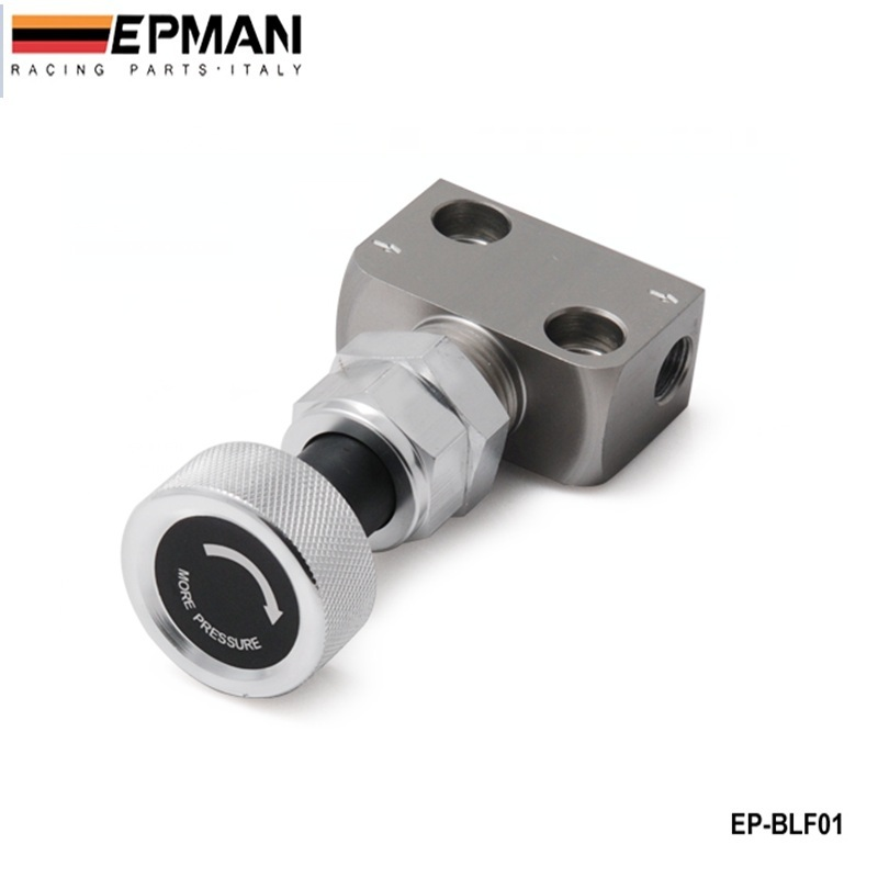 Silver Brake Proportion Valve Adjustable Prop, Brake Bias Adjuster Racing Lever Type EP-BLF01
