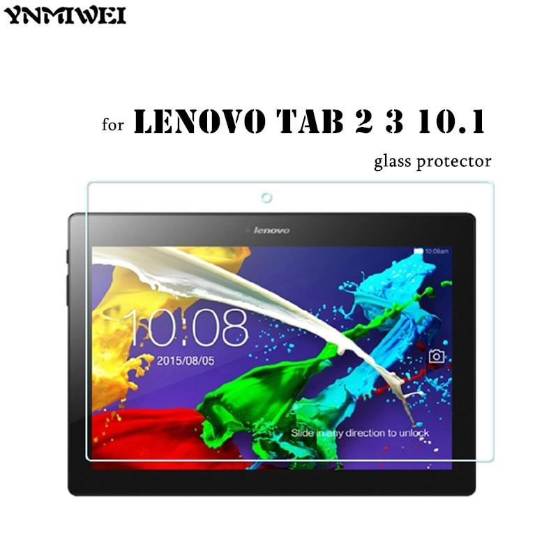 2 unids / lote Tab2 A10-70F Protector de pantalla de vidrio templado para Lenovo Tab 2 A10-70 Tab3 X70F X70M TAB 10 TB-X103F Protector de vidrio