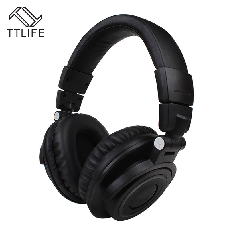 TTLIFE Super Bass Stereo Bluetooth Headphone Wireless Noise Cancelling HiFi Headset Gaming Headphone Earphone with Mic wireless bluetooth headphone hifi deep bass stereo earphone noise cancelling headset with mic support tf card