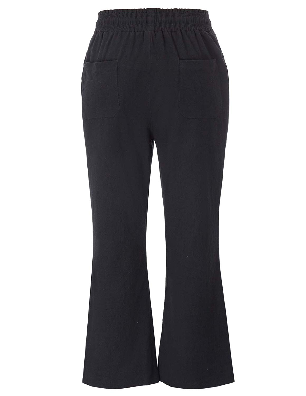 Women s Casual Cropped Pants with Pockets trousers women