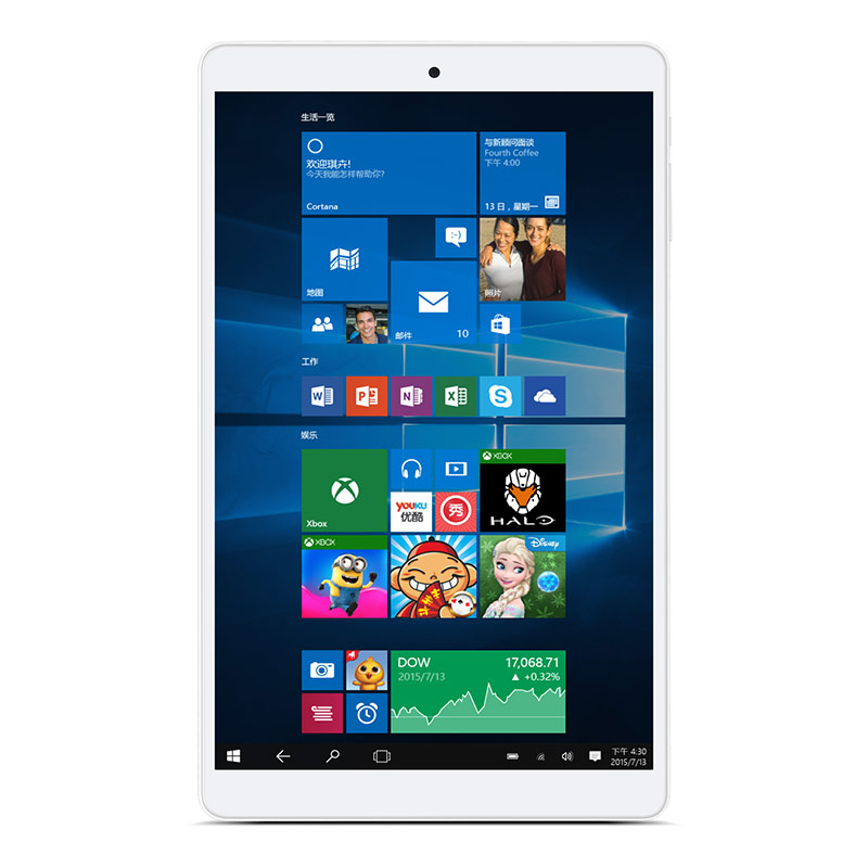 Newest 8 Inch Teclast X80 PLUS Window10 System T3 Z8300 1.84GHz Tablet PC 1280*800 RAM 2GB ROM32g