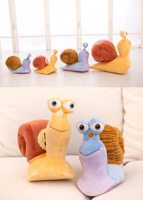 21cm Cartoon 3D CuteTurbo Plush Toy Stuffed Animal Toys Cool Turbo speed Snail Plush Toys For Kid Birthday Gift