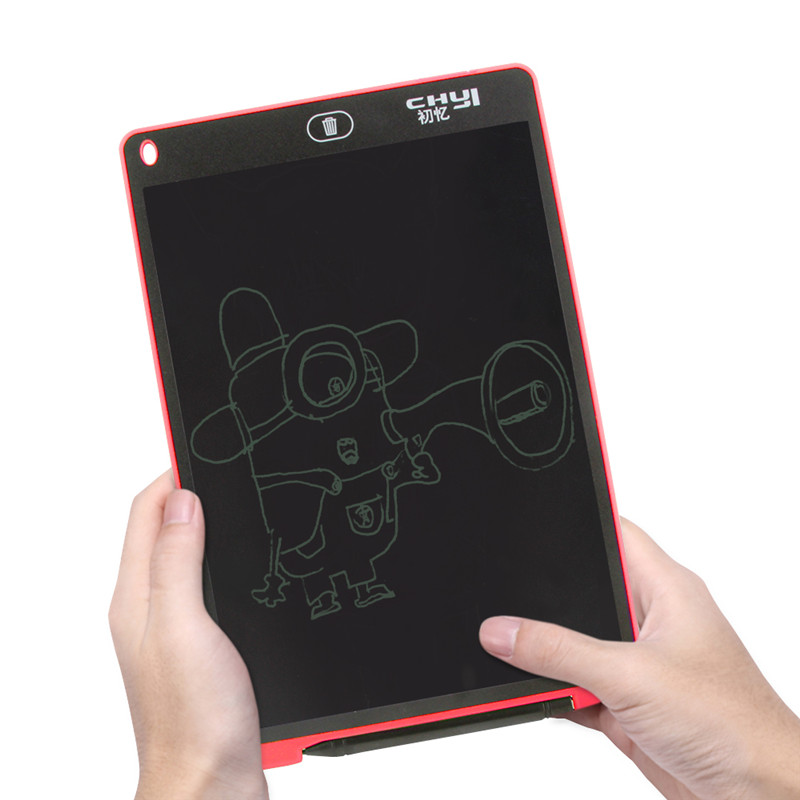 12 Portable Smart LCD Digital Drawing Writing Tablet Electronic Board With Pen And Battery