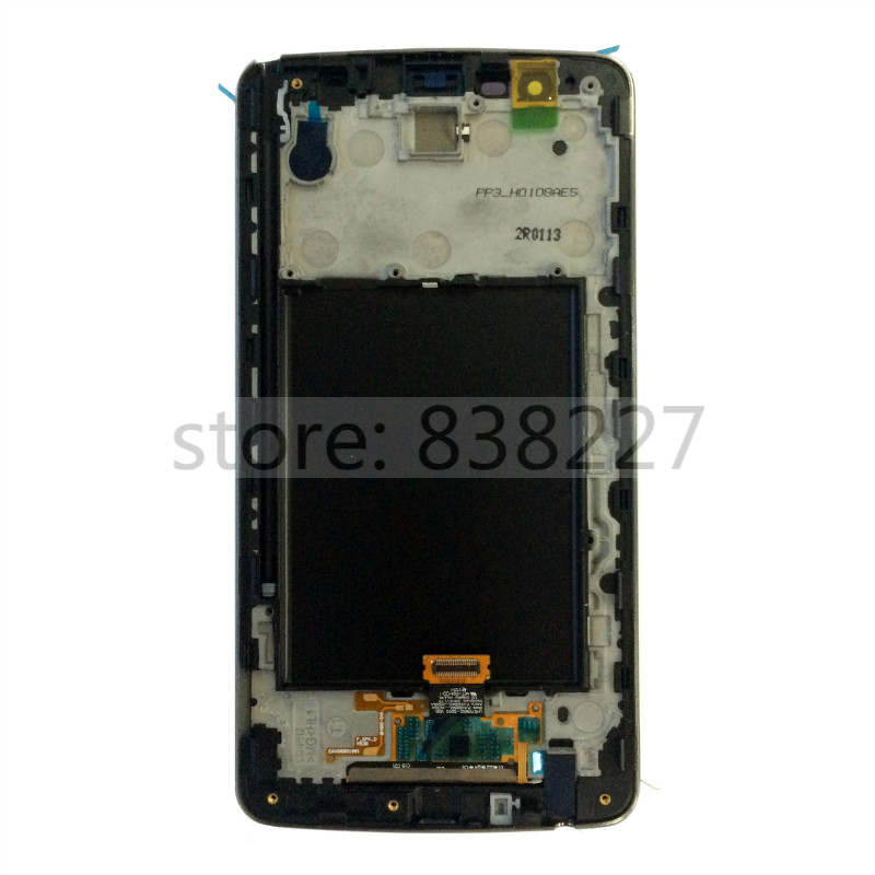 5.7 LCD display For LG K550 Stylo 2 Plus black TouchScreen LCD Display Digitizer touch screen Glass pantalla with golden frame