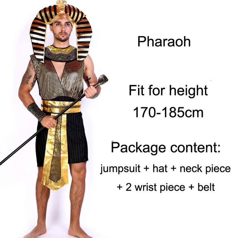 Umorden Helovinas kostiumai Senovės Egiptas Egipto faraonas karalius - Karnavaliniai kostiumai - Nuotrauka 3