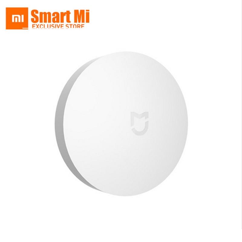100% Yeni Orijinal Xiaomi Xiaomi Akıllı Ev Için Akıllı Mini Kablosuz Anahtar Anahtarı