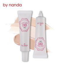 By Nanda Fresh Silky BB Cream Natural Cosmetics Face Make Up Oil control Liquid Foundation Concealer