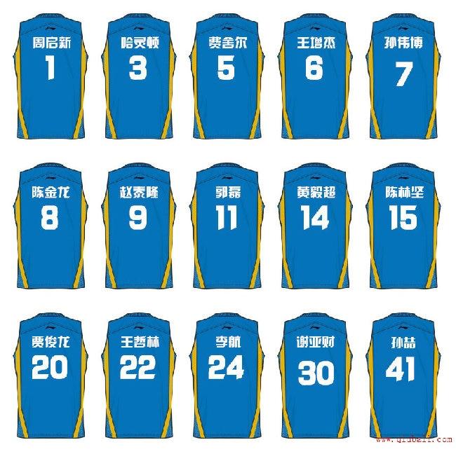 2014-2015赛季CBA福建球员名单