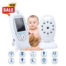 Infantil 2.4 GHz Inalámbrico Bebé Niñera de Radio Digital Video Baby Monitor de La Visión Nocturna Audio Música Temperatura cámara inalámbrica HIK