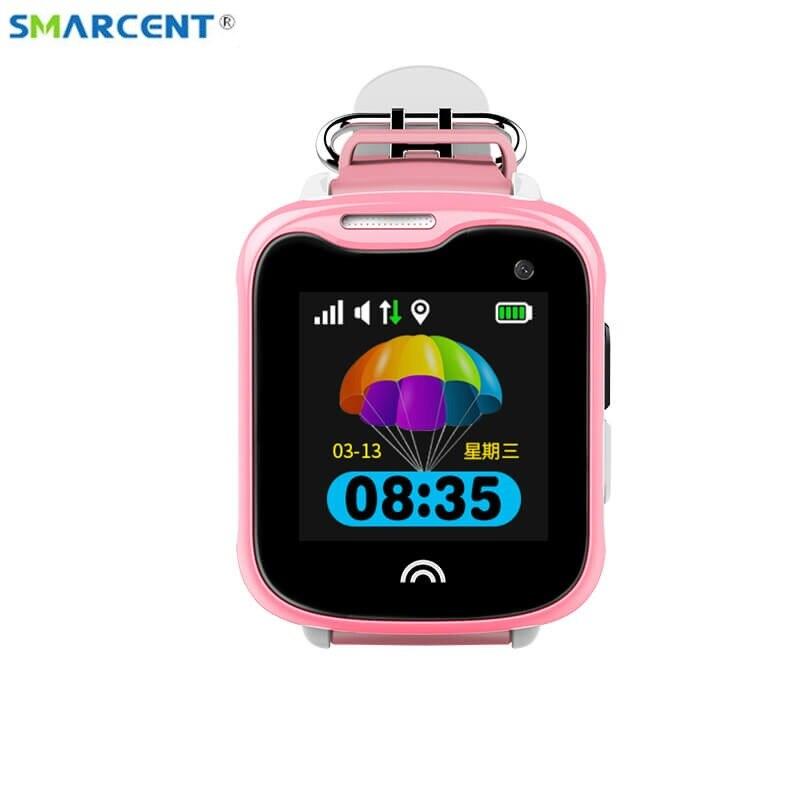 D7 GPS Wifi LBS montre intelligente GSM SIM enfants horloge Tracker étanche Sport surveillance vocale clôture alarme SOS pour enfants enfants